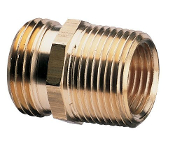 Brass Pipe To Hose Adapter (2 Required)