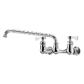 "Krowne 8"" Center Wall Mount Faucet - 12"" Spout"