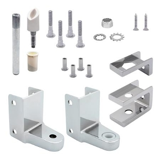 Replacement Hinge Pack For Rounded Pilasters