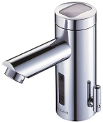 Sloan Solar Powered Sensor Faucet With Battery Backup