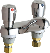 Chicago Metering  Lavatory Faucet