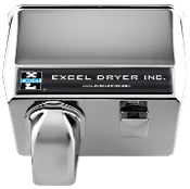 Excel Push Button Hand Dryer (76 Series)