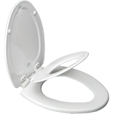 Bemis Next Step Childs Potty Seat, Elongated - White
